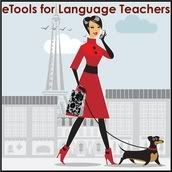 I have used Mme Duckworth's blog many times.  She has a wonderful collection of e-tools for language learning.