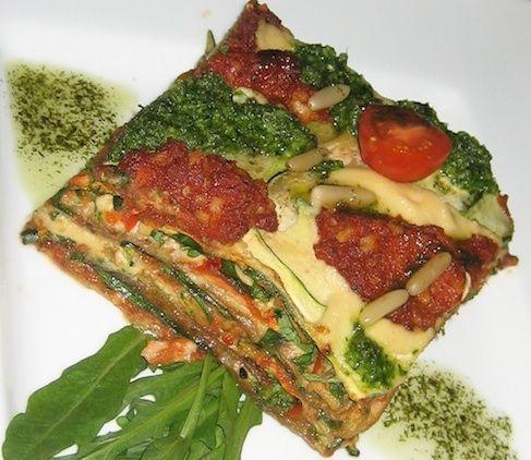 Rohe Lasagne                                                                                                                                                                                 Mehr