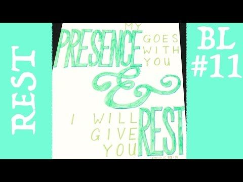 Bible Lettering 16: He Himself is our Peace (Ephesians 2:14) - YouTube