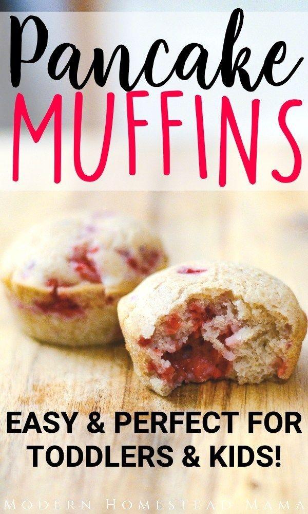 Pancake Muffins Easy Perfect For Toddlers Kids Pancake