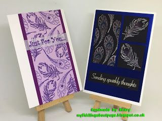 """I added """"fiddling about: FeathersHilary"""" to an #inlinkz linkup!https://myfiddlingaboutpage.blogspot.co.uk/2018/01/hello-today-i-have-made-two-cards-in.html"""