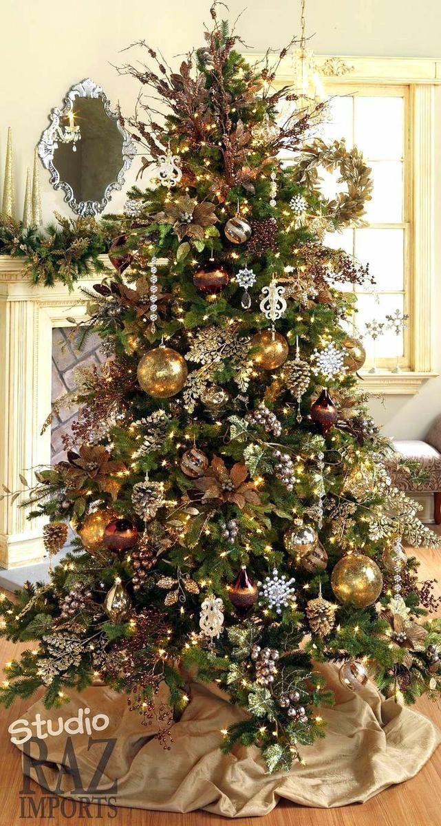 M s de 25 ideas fant sticas sobre decoraciones para - Ideas decorar arbol navidad ...
