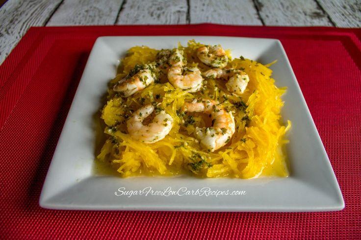 Crock Pot Shrimp Scampi :http://lowcarbyum.com/crock-pot-shrimp-scampi-slow-cooker-recipe/