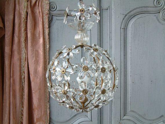 RESRVED voor K Franse vintage Maison Baguès stijl bal