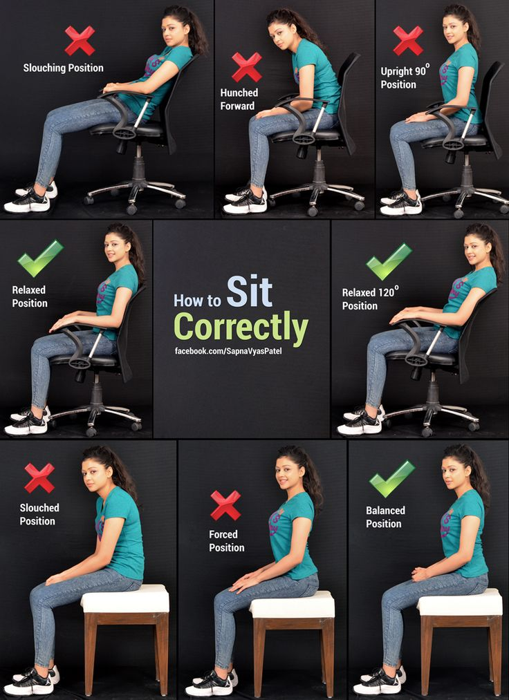 25 Best Ideas About Sitting Posture On Pinterest
