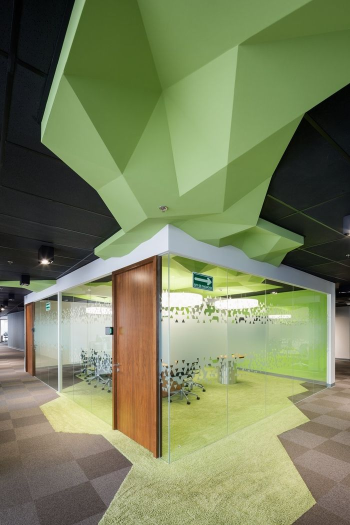 Best 25 workplace design ideas on pinterest open space for Woodworks design office 9