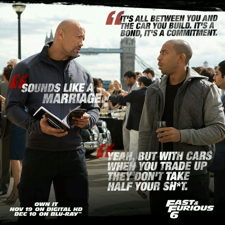 Fast And Furious 6 ~ Tej and Hobbs. x