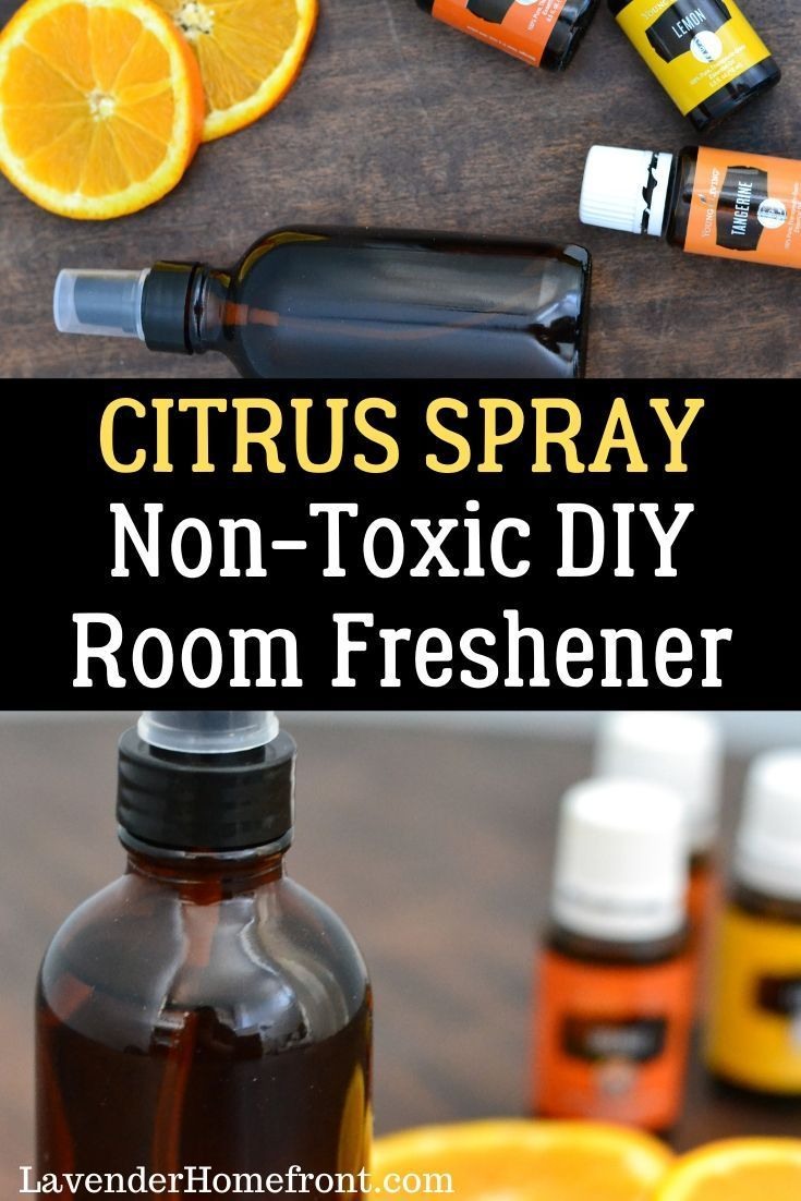 This easy to make citrus spray is the perfect nontoxic