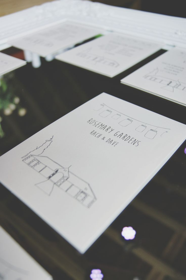 Table plan - London parks, Rosemary Gardens