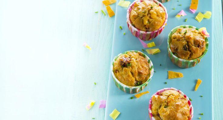 Cupcakes de Salsicha - http://www.entretaxos.com/cupcakes-de-salsicha/
