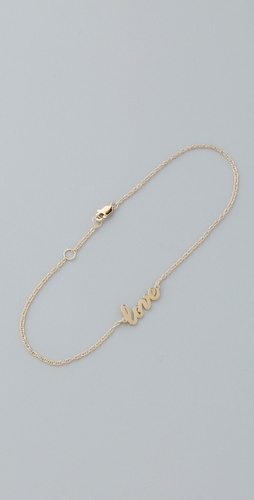 Jewelry Love Anklet / Jennifer Zeuner jewely