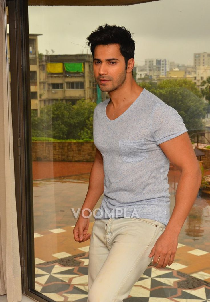 Bollywood's chocolate boy Varun Dhawan! via Voompla.com