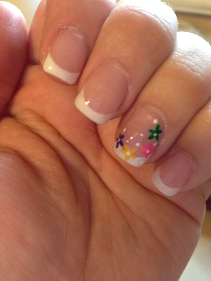 Love my new spring nails! 2014