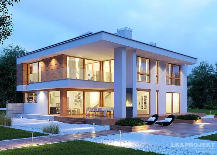 Projekty domów LK Projekt LK&1207 zdjęcie wiodące