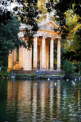 Villa Borghese, Rome, Italy | Flickr - Photo Sharing!  die schönsten Location direkt am Wasser#location #am #wasser #draußen#sommer #outdoor #event #inc #veranstalten #romantic #water #wedding #pool