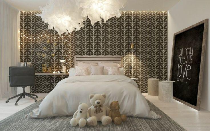Voilà une décoration pour chambre d'enfants atypique et pleine de charme