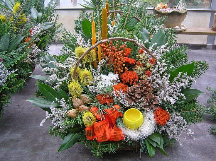 Dušičková vazba   Zahradnictví Útěchov » široký sortiment rostlin, služeb i zahradnického materiálu