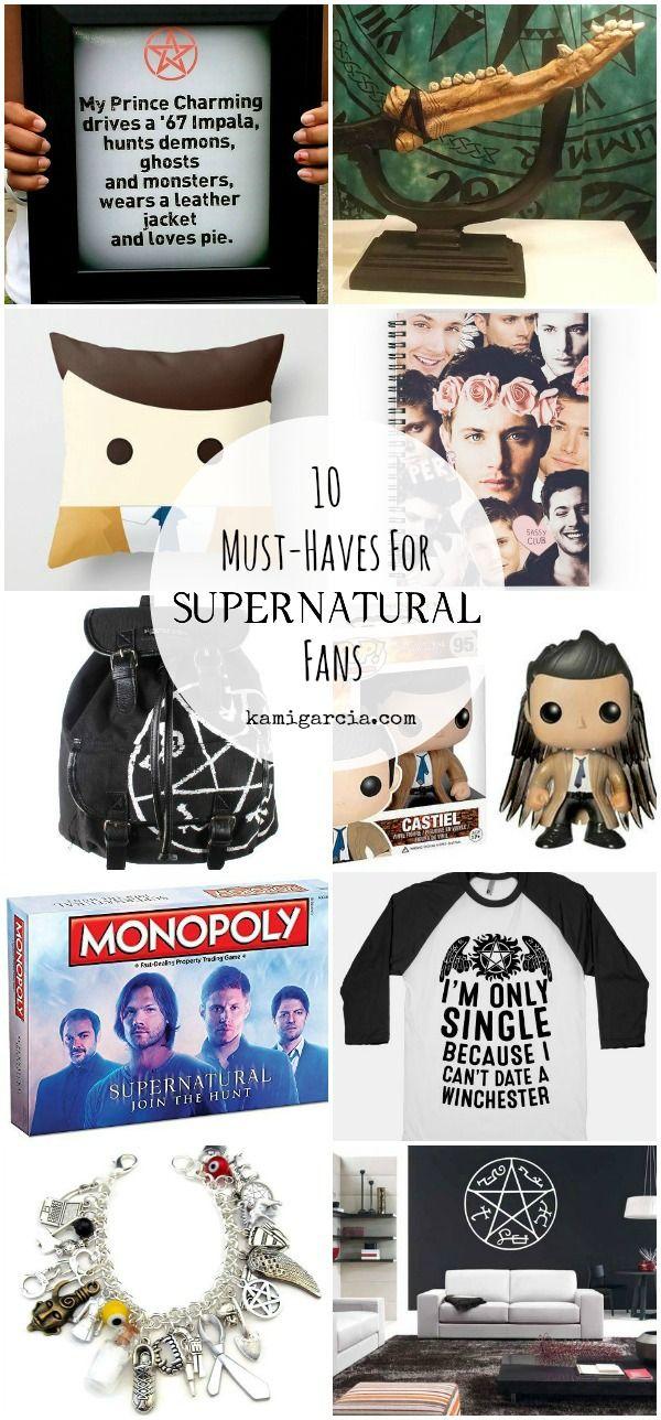 10 Must-Haves for Supernatural Fans   Kami Garcia