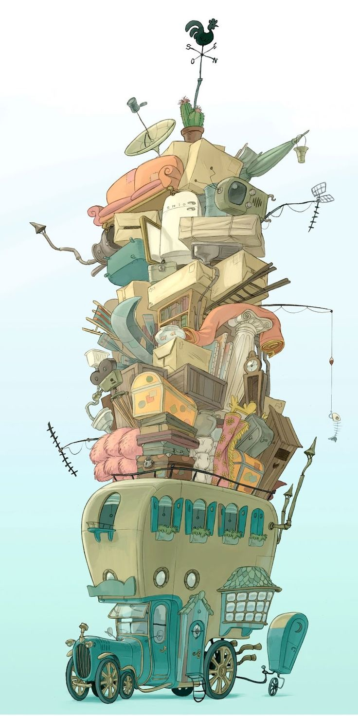 Artes de Despicable Me 2 e The Lorax, por Paul Mager | THECAB - The Concept Art Blog