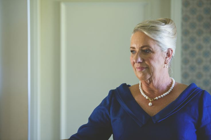 Keep makeup tones soft and flattering for mature women with blonde or silver hair, like this elegant mother of the groom in Tauranga, December 2015.  Photo: Nikki South.  http://www.abeautifuleducation.co.nz/Professional-Makeup-in-Tauranga.html
