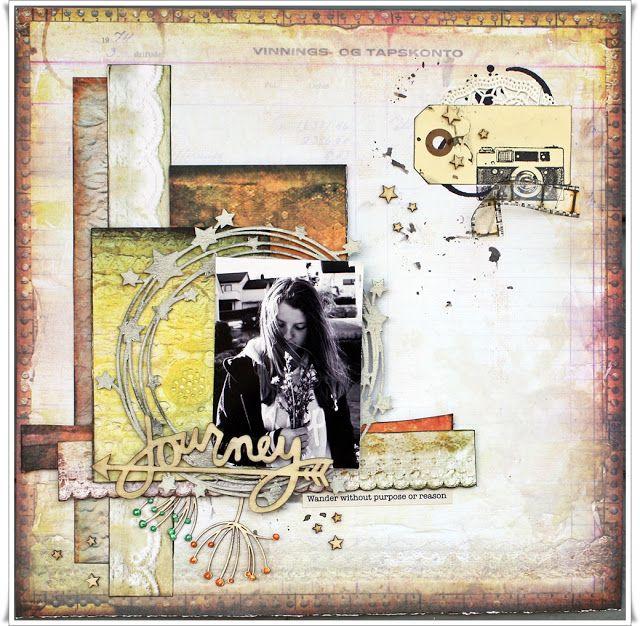 Jorunn`s Fristed: July Challange - Creative Embellishments
