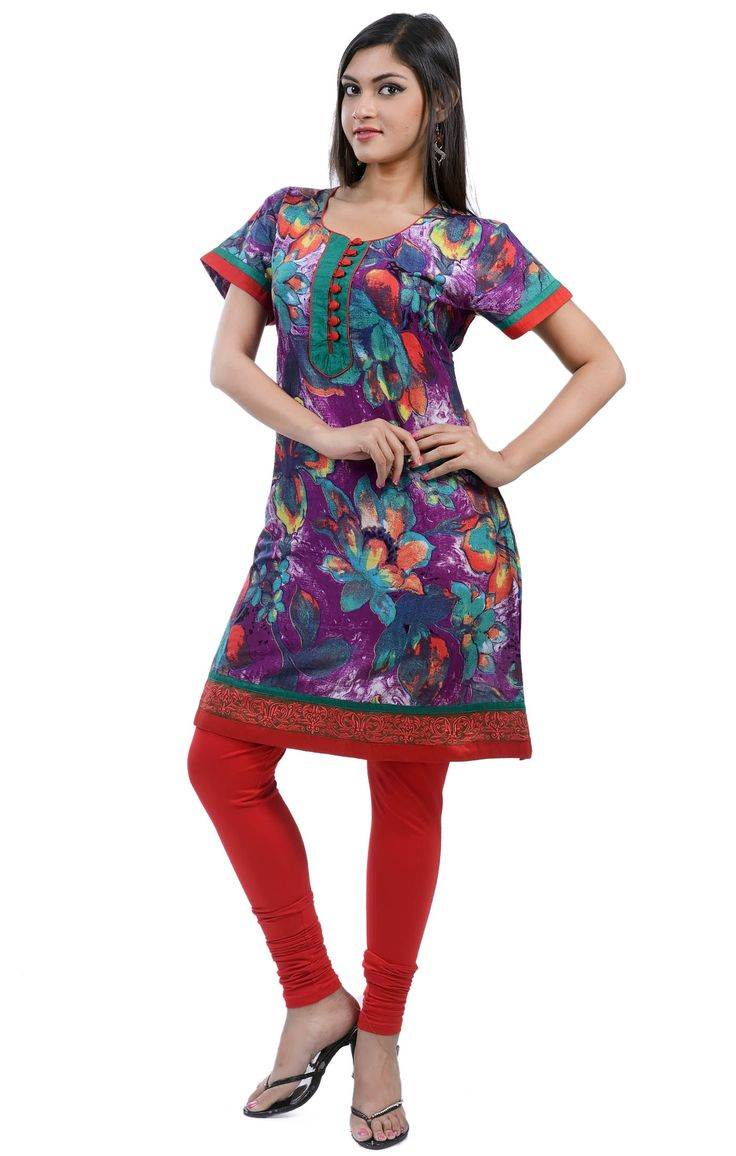 Flat 10% off On designer kurtis only for today