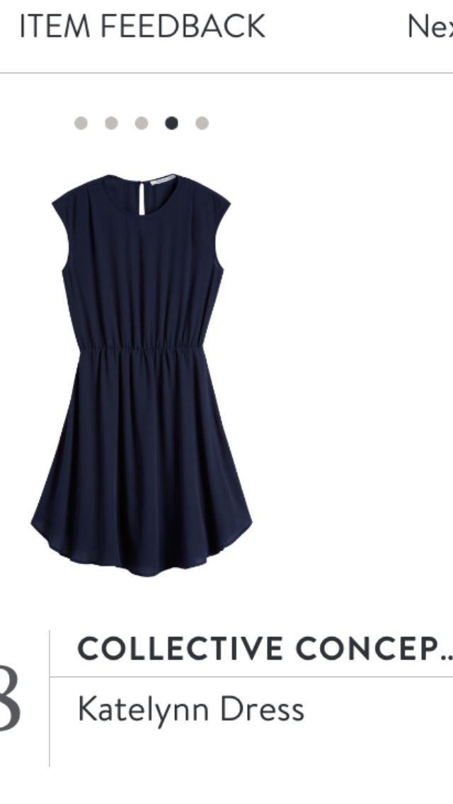 Collective Concepts Katelynn Dress. Stitch Fix fall wedding attire