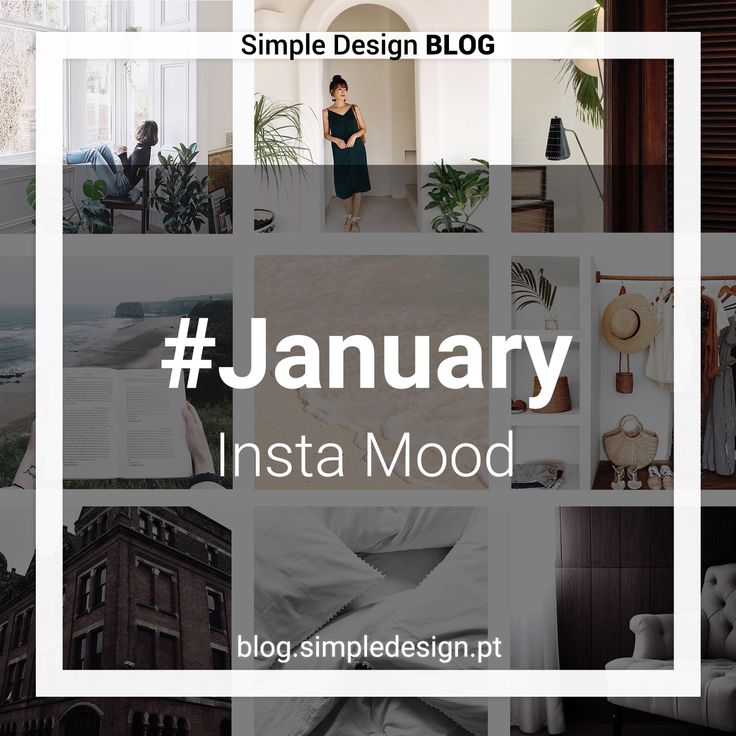 Instagram is one of my main sources of inspiration. Here we can find accounts that are fantastic mood boards. To begin 2018, here we have the 5 Instagram accounts elected for the month of January: @cocoduffield @eslee @inukhome @theslowtraveler @trottermag #blog #instamood #instagram #january #blogarticle