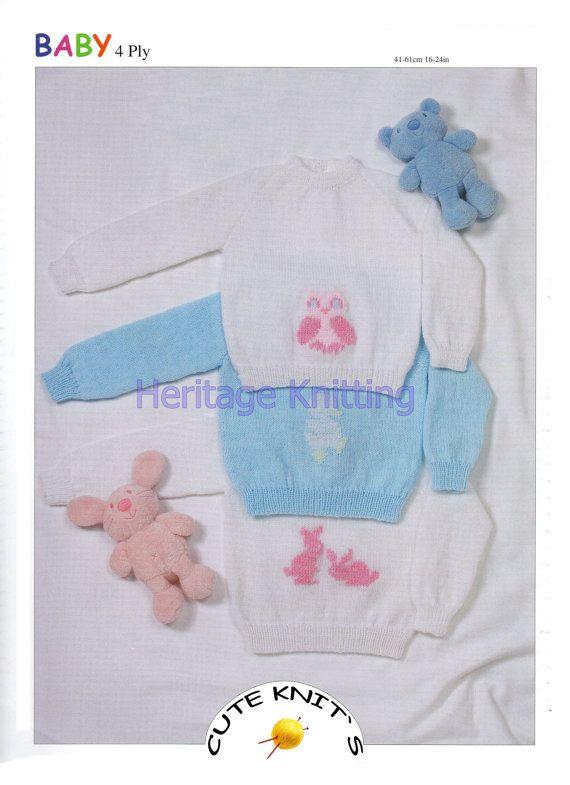 97 mejores imágenes de Baby knits 4 en Pinterest | Prendas de punto ...
