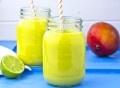 Mango-Pineapple SmoothieDrinks Pics, Mango Pineapple Smoothie, Birthday Parties, Parties Drinks, Beverages, Food Blog, Mangopineappl Smoothie, Smoothie Drinks, Limes Smoothie