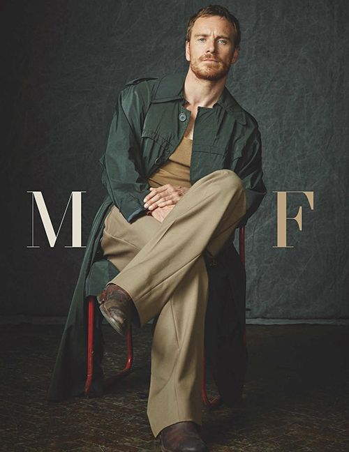 Michael Fassbender for British GQ - 12/2016