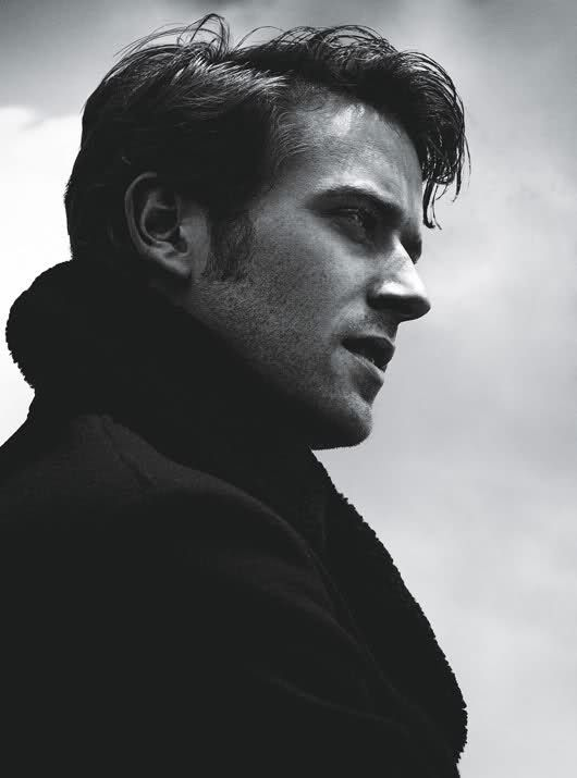 ARMIE HAMMER He's an heir to an oil empire, he's married to a beautiful woman and he's both halves of the Winklevy. Brilliant.