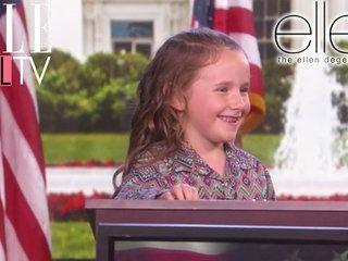 Un quiz sur les présidents des Etats-Unis avec Macey Hensley | The Ellen DeGeneres Show | Du Lundi à Vendredi à 20h10 | Talk Show