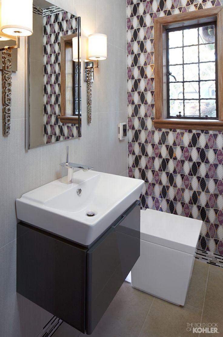 Bathroom Designs Kohler the bold look of | tiny bathrooms, toilet and vanities