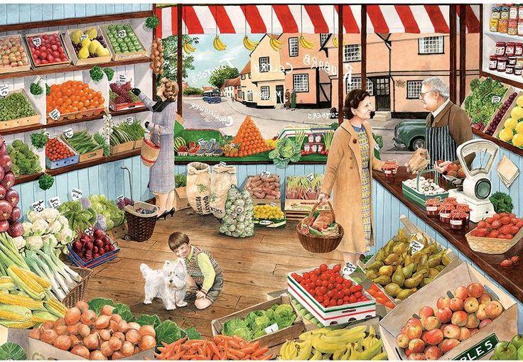 greengrocers ¿Qué hay para comprar?