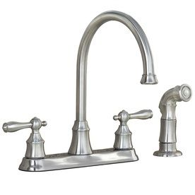 http://www.lowes.com/pd_103636-29279-67157-1008D1_0__?productId=3516540&Ntt=stainless+steel+kitchen+faucet&Ns=p_product_price|0&pl=1&currentURL=%3FNs%3Dp_product_price%7C0%26Ntt%3Dstainless%2Bsteel%2Bkitchen%2Bfaucet%26page%3D1&facetInfo= (kitchen faucet option from lowes)
