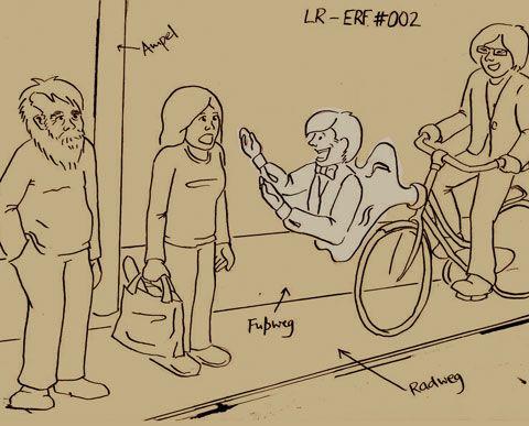 LemonRide Erfindungen der Radwegbutler #Fahrraderfindung #LemonRide #Butler