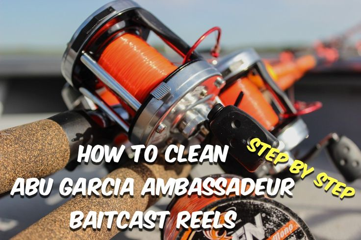 How To Clean Abu Garcia Ambassadeur Fishing Reels with simple step by step instructions.