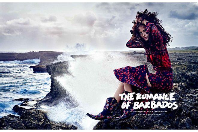バルバドスの風に吹かれて。【VOGUE JAPAN 8月号 FASHION STORY】|ファッション(流行・モード)|VOGUE JAPAN