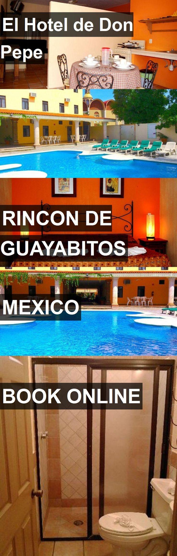 El Hotel de Don Pepe in Rincon de Guayabitos, Mexico. For more information, photos, reviews and best prices please follow the link. #Mexico #RincondeGuayabitos #travel #vacation #hotel