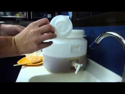 Receta para hacer cerveza todo grano casera - YouTube