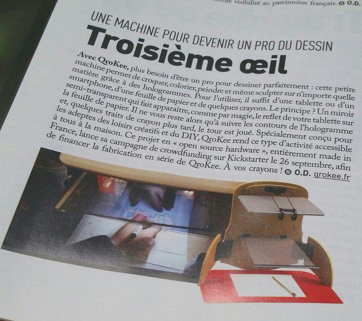 QroKee dans @Socialter n°13, le magazine de l'Economie Nouvelle Génération maintenant en kiosque