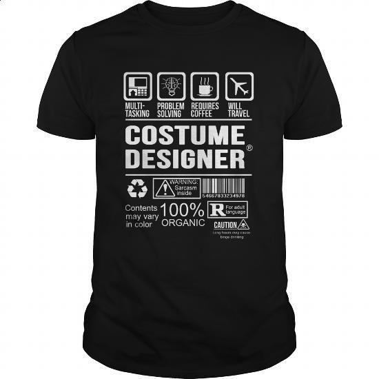 COSTUME-DESIGNER #teeshirt #fashion. GET YOURS => https://www.sunfrog.com/LifeStyle/COSTUME-DESIGNER-124015787-Black-Guys.html?60505
