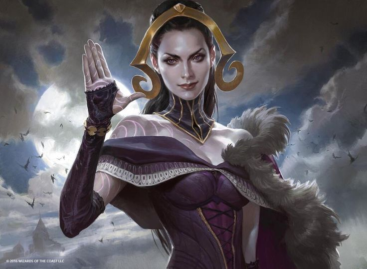 Oath of Liliana MtG Art by Wesley Burt