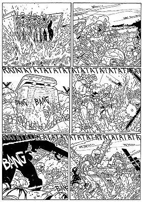 """da """"Agenzia Alfa n° 33, Il sole del mattino"""", testi di S.Piani e disegni di Melissa Zanella . (L'eredità di Hopper - Sergio Bonelli Ed). By Melissa Zanella."""