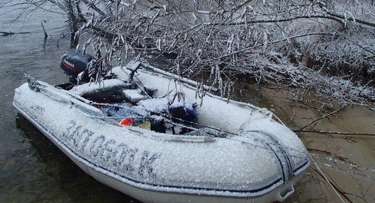 Рыбалка в Запорожье - Ловля  окуня с лодки
