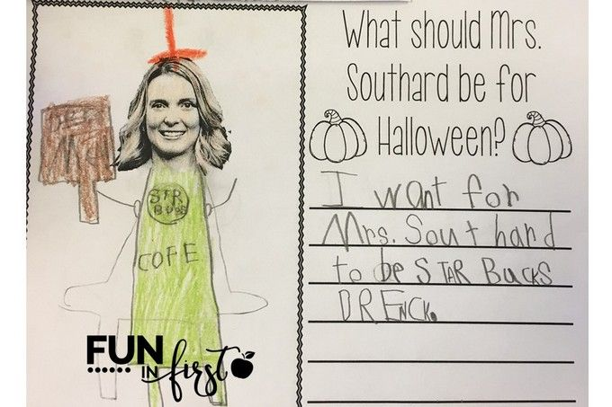 What Should My Teacher Be For Halloween? - FREE Download from Fun in First