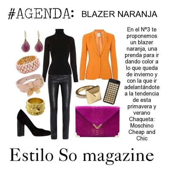 Blazer naranja: Light Pink Blazers, Blazers Naranja, Magazines