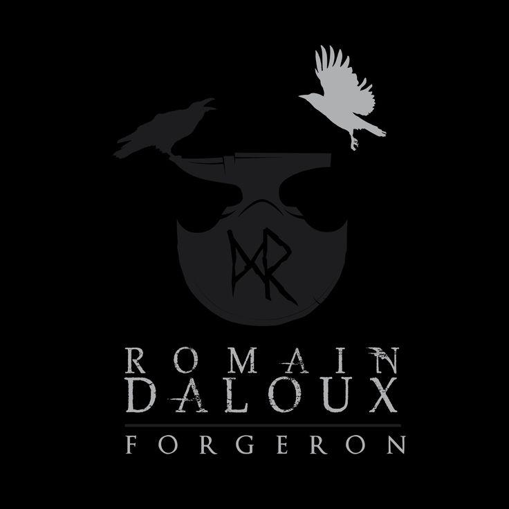 Logotype for ROMAIN DALOUX - FORGERON By www.johndesign.net