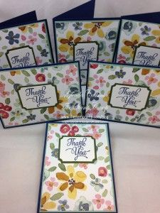 2015 More English Garden Thank You Cards! | The Stamp Camp